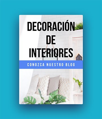 Banner Decoración de Interiores