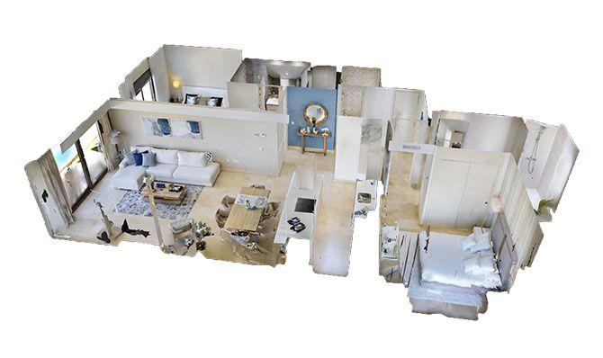 visita virtual inmobiliaria, matterport en españa, visita inmersiva, venta de piso en malaga