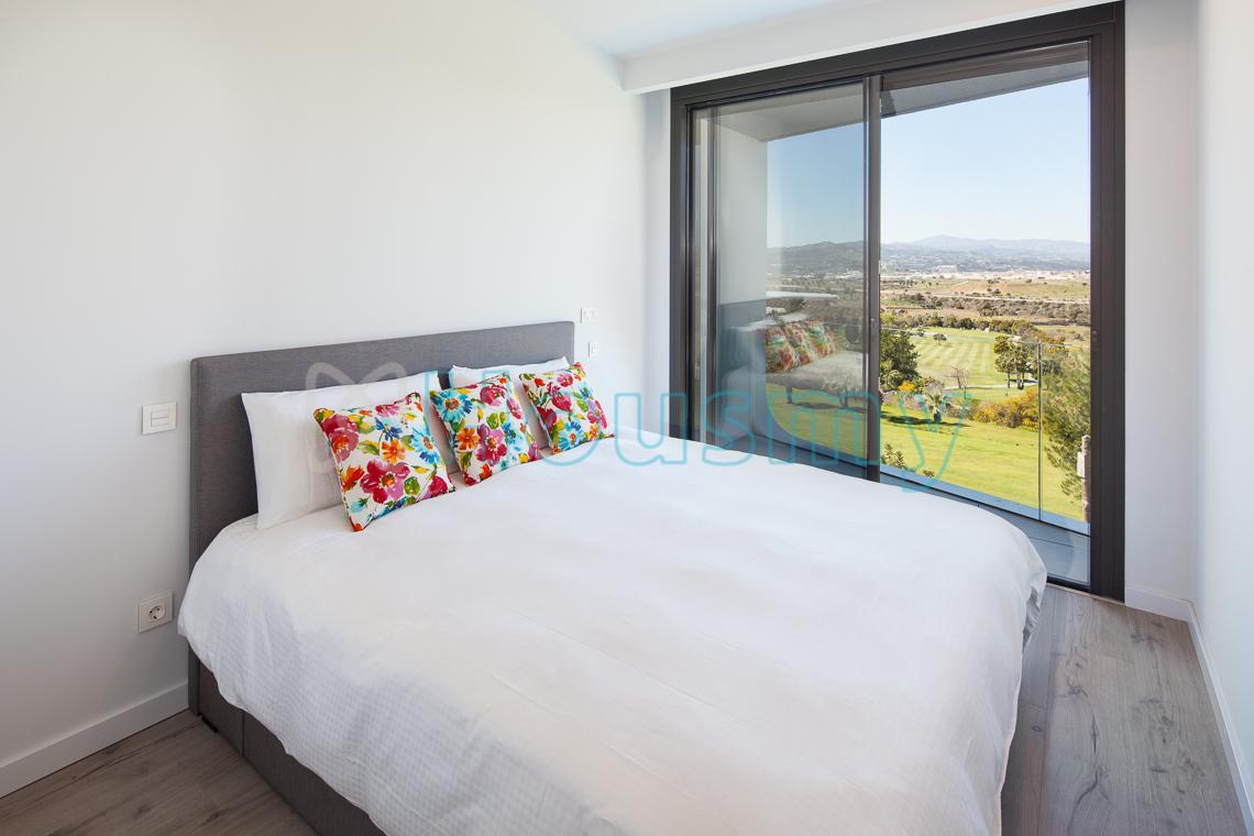 Dormitorio de adosado de 3 dormitorios en Málaga