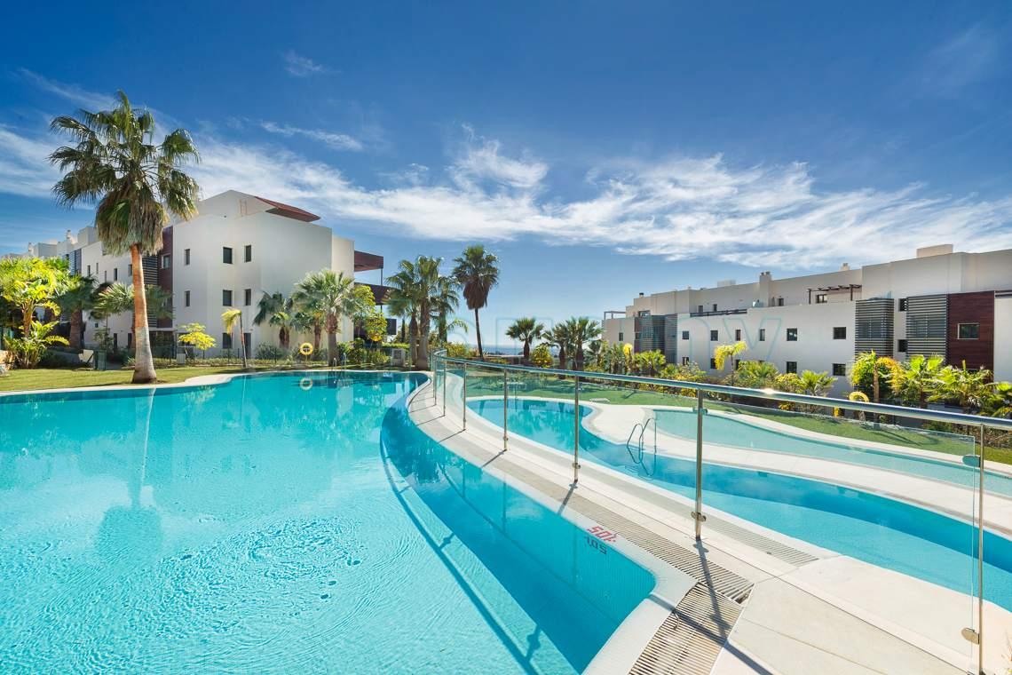 piscina de urbanizacion hoyo 19 los flamingos, apartamento en venta 2 dormitorios