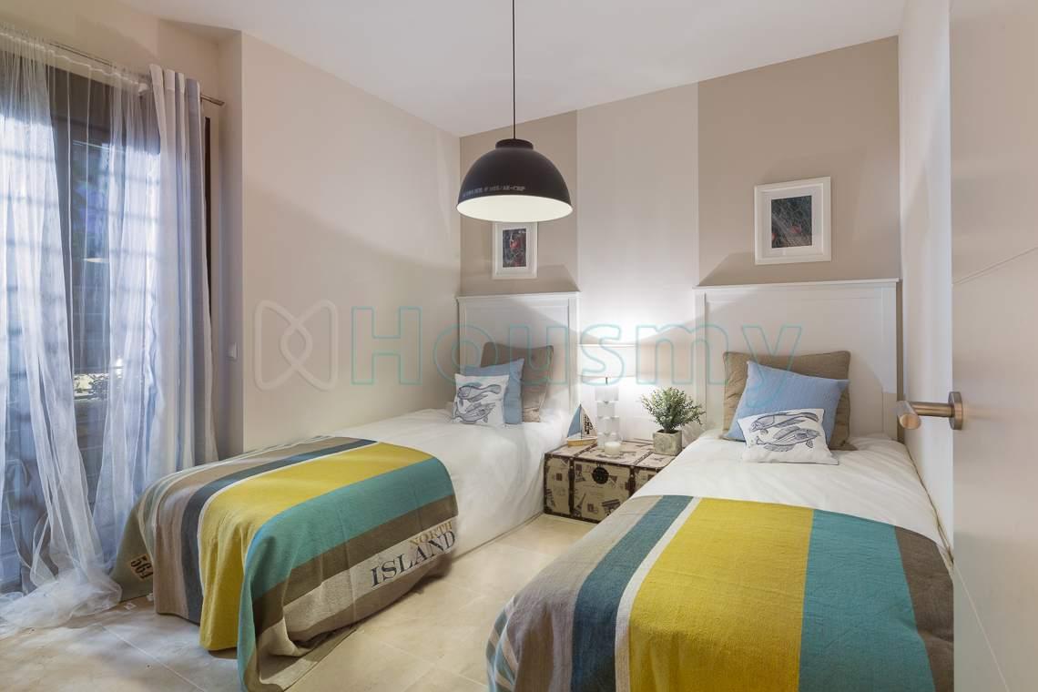 dormitorio apartamento en venta los flamingos golf resort, housmy