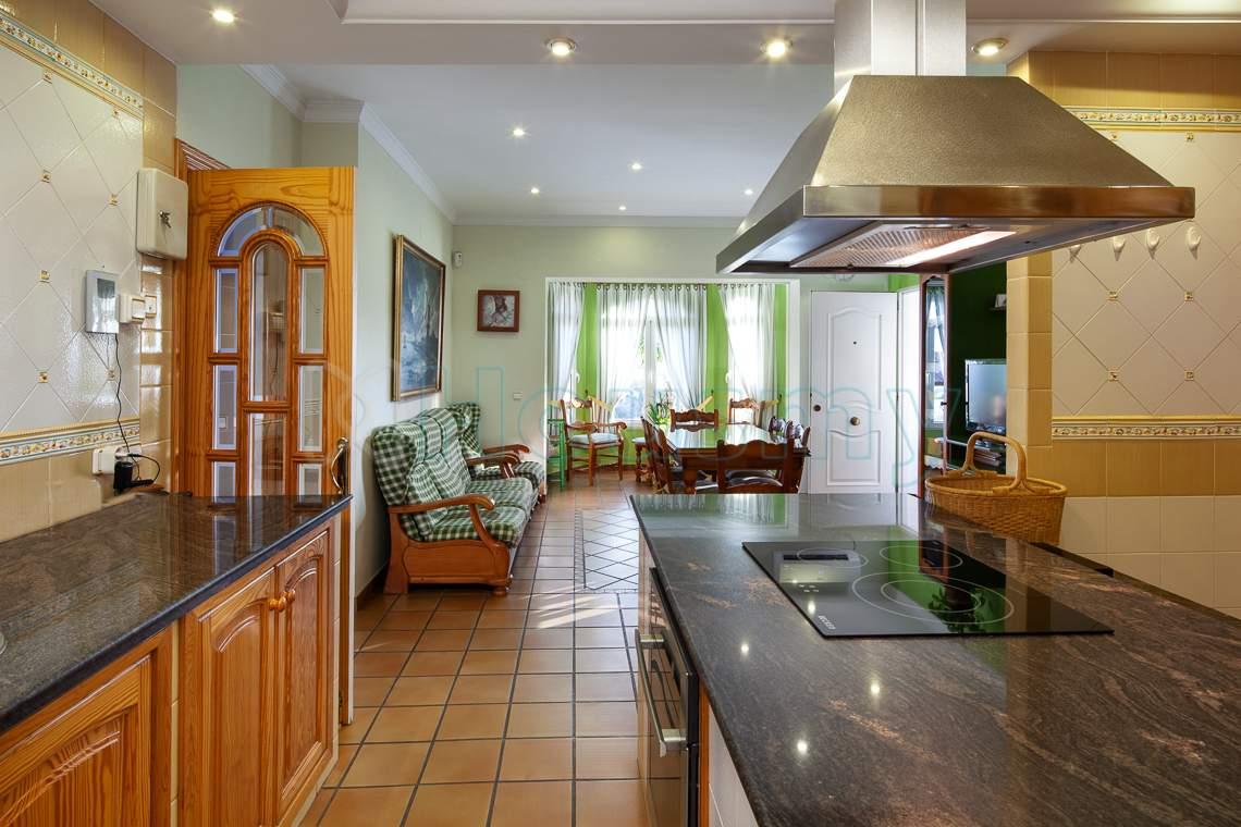 cocina rustica en casa en venta housmy