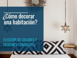 ómo decorar una habitación, como decorar una habitacion, housmy, decoracion de interiores, blog de decoracion, post decoracion