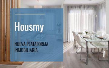 nueva plataforma inmobiliaria, housmy, plataforma inmobiliaria, portal inmobiliario, venta de pisos, venta de apartamentos